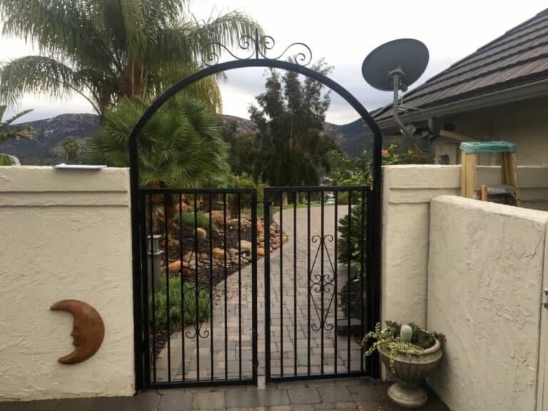 Ornamental Wrought Iron Gate - Legend Fence