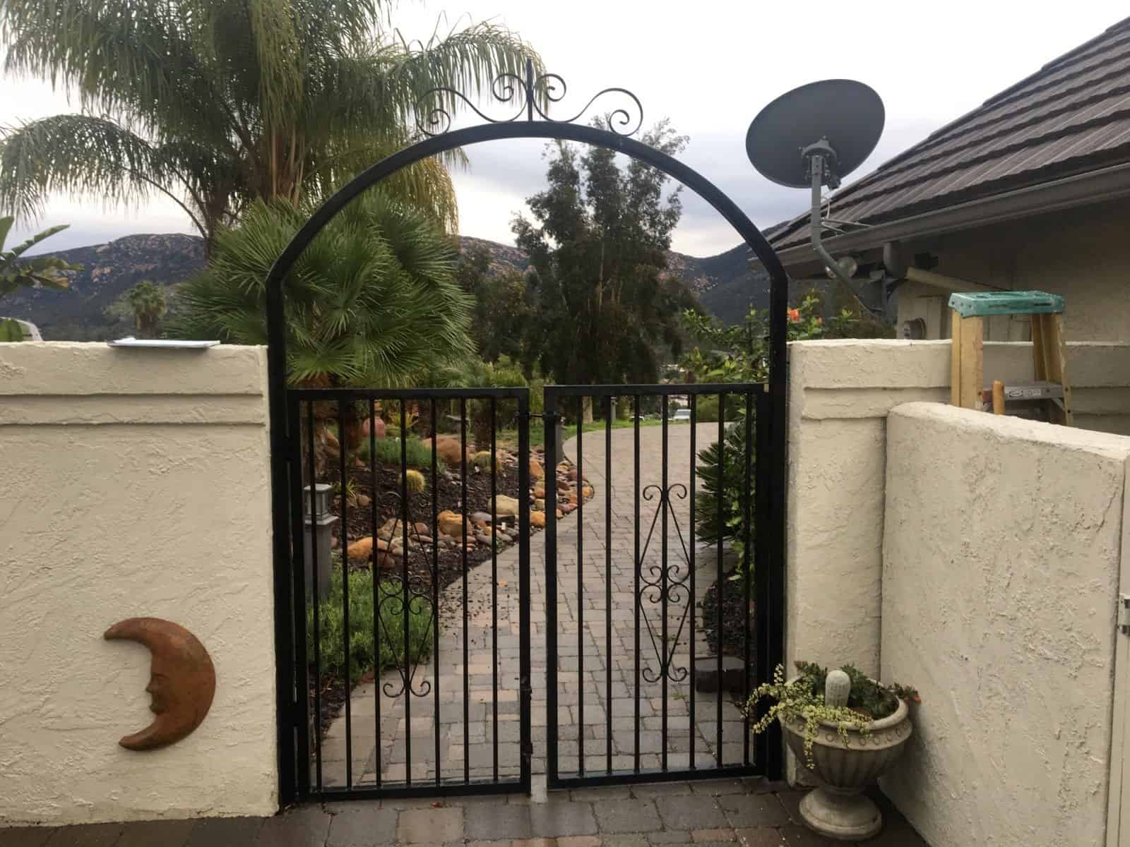 Ornamental Wrought Iron Gate - Legend Fence