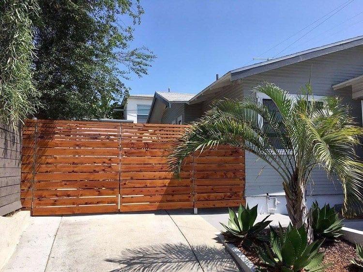 Residential Cedar Fence - Legend Fence