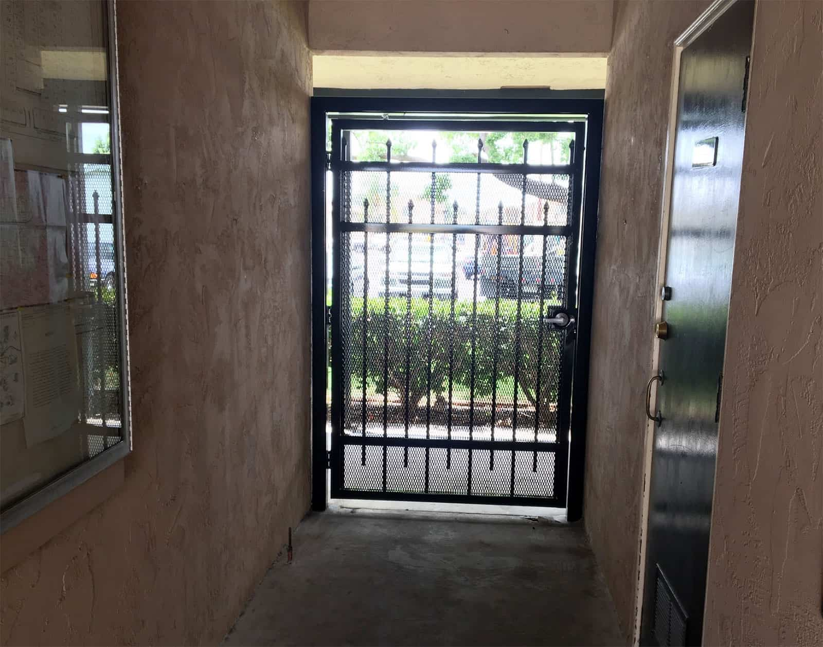 Security Iron Gate