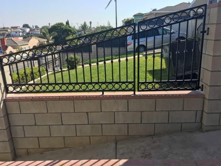 Wrought Iron Decorative Fence - Legend Fence