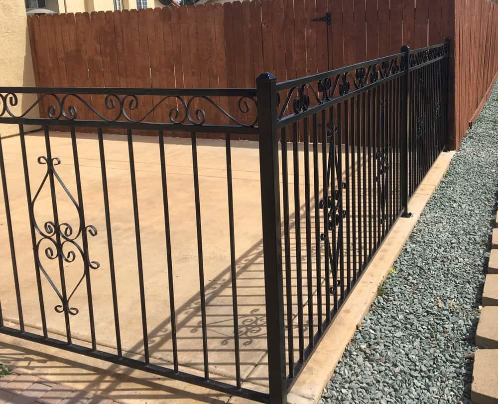 decorative fence lemon grove legend fence